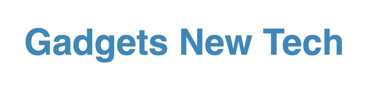 gadgets new tech logo